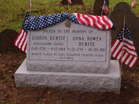DURFEE (RW), GIDEON - Wayne County, New York | GIDEON DURFEE (RW) - New York Gravestone Photos