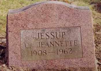 JESSUP, C. JEANNETTE - Westchester County, New York   C. JEANNETTE JESSUP - New York Gravestone Photos