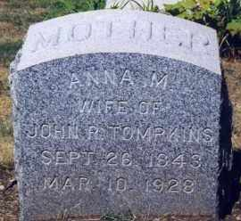 BARGER TOMPKINS, ANNA MARIE - Westchester County, New York | ANNA MARIE BARGER TOMPKINS - New York Gravestone Photos