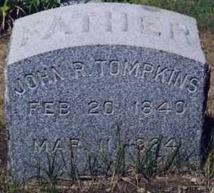 TOMPKINS, JOHN R. - Westchester County, New York | JOHN R. TOMPKINS - New York Gravestone Photos