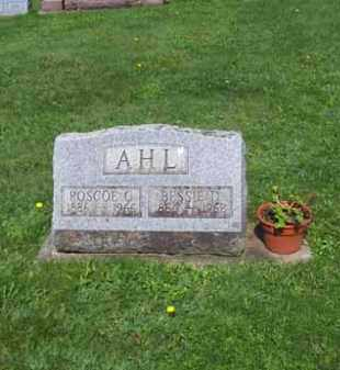 CURTIS AHL, ROSETTE D. - Wyoming County, New York | ROSETTE D. CURTIS AHL - New York Gravestone Photos