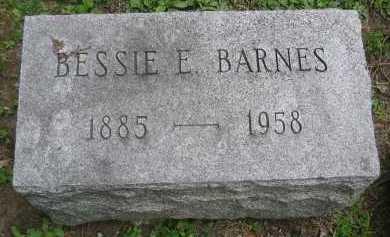 BARNES, ELIZABETH BESSIE - Wyoming County, New York | ELIZABETH BESSIE BARNES - New York Gravestone Photos