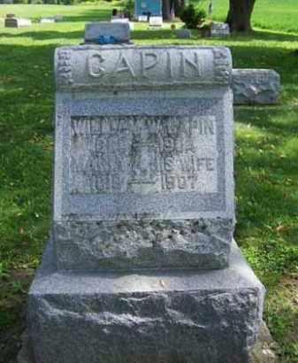 CHAPIN, MARIA - Wyoming County, New York | MARIA CHAPIN - New York Gravestone Photos
