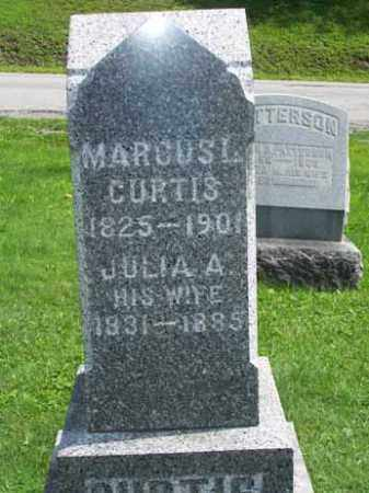 CURTIS, MARCUS LAFAYETTE - Wyoming County, New York | MARCUS LAFAYETTE CURTIS - New York Gravestone Photos
