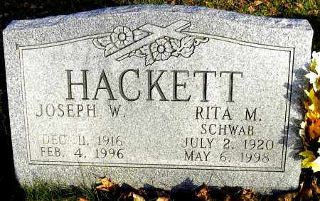 SCHWAB HACKETT, RITA M. - Wyoming County, New York | RITA M. SCHWAB HACKETT - New York Gravestone Photos