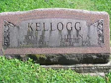 KELLOGG, LILLIAN A. - Wyoming County, New York | LILLIAN A. KELLOGG - New York Gravestone Photos