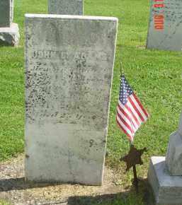 ADAMS (CW), JOHN C. - Yates County, New York | JOHN C. ADAMS (CW) - New York Gravestone Photos