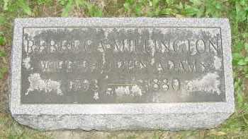 MIDDLETON ADAMS, REBECCA - Yates County, New York | REBECCA MIDDLETON ADAMS - New York Gravestone Photos