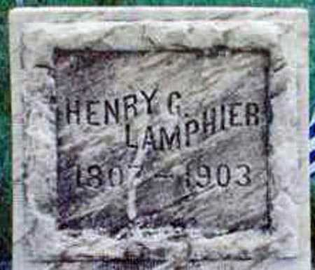 LAMPHIER, HENRY G. - Yates County, New York | HENRY G. LAMPHIER - New York Gravestone Photos
