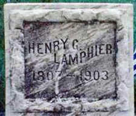 LAMPHIER, HENRY G. - Yates County, New York | HENRY G. LAMPHIER - New York Gravestone Photos