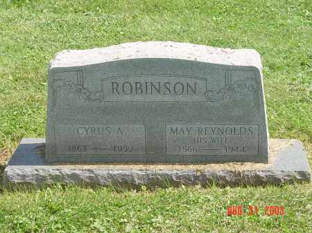REYNOLDS ROBINSON, LETTIE MAY - Yates County, New York | LETTIE MAY REYNOLDS ROBINSON - New York Gravestone Photos