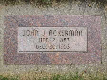 ACKERMAN, JOHN JOSEPH - Baker County, Oregon   JOHN JOSEPH ACKERMAN - Oregon Gravestone Photos