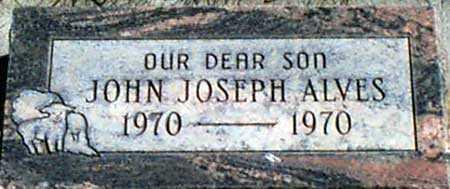 ALVES, JOHN JOSEPH - Baker County, Oregon | JOHN JOSEPH ALVES - Oregon Gravestone Photos