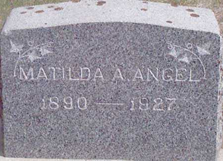 IRVIN ANGEL, MATILDA ADELIA - Baker County, Oregon | MATILDA ADELIA IRVIN ANGEL - Oregon Gravestone Photos