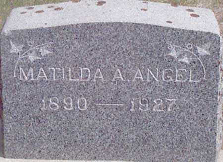 ANGEL, MATILDA ADELIA - Baker County, Oregon | MATILDA ADELIA ANGEL - Oregon Gravestone Photos