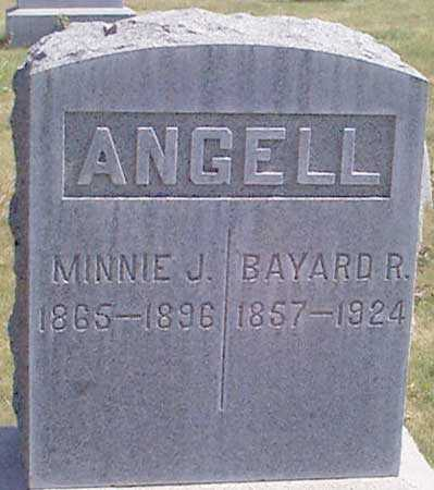 ANGELL, MINNIE JANE - Baker County, Oregon | MINNIE JANE ANGELL - Oregon Gravestone Photos