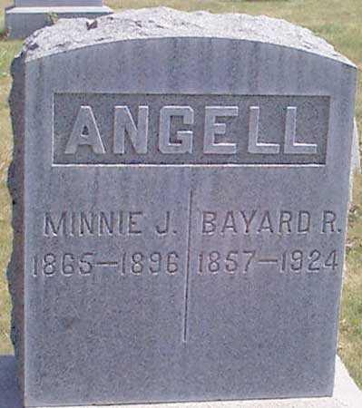 ANGELL, MINNIE JANE - Baker County, Oregon | MINNIE JANE ANGELL - Oregon Gravestone Photos