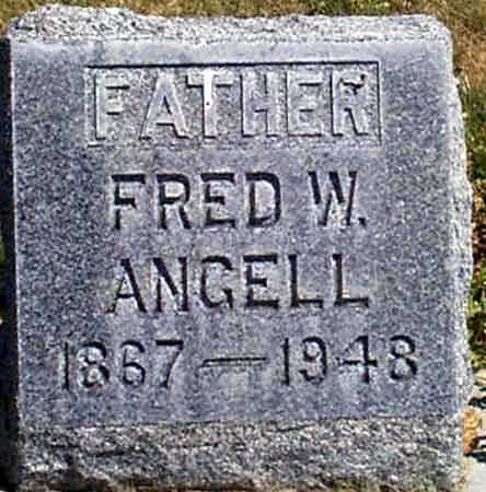 ANGELL, FRED W. - Baker County, Oregon | FRED W. ANGELL - Oregon Gravestone Photos