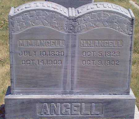 CRANE ANGELL, MARY MELISSA - Baker County, Oregon | MARY MELISSA CRANE ANGELL - Oregon Gravestone Photos