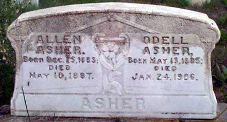 ASHER, WILLIAM ODELL - Baker County, Oregon | WILLIAM ODELL ASHER - Oregon Gravestone Photos