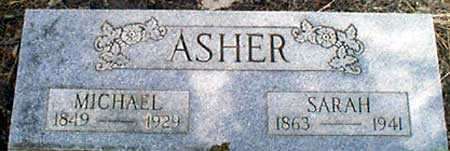 ASHER, MICHAEL - Baker County, Oregon | MICHAEL ASHER - Oregon Gravestone Photos