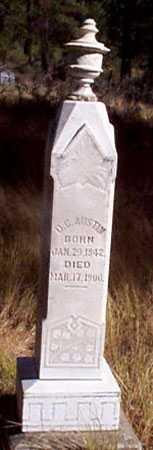 AUSTIN, D. C. - Baker County, Oregon | D. C. AUSTIN - Oregon Gravestone Photos