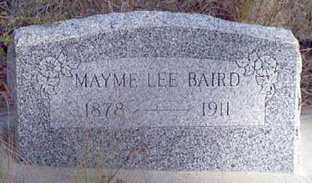 BAIRD, MAYME LEE - Baker County, Oregon | MAYME LEE BAIRD - Oregon Gravestone Photos