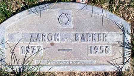 BARKER, AARON - Baker County, Oregon   AARON BARKER - Oregon Gravestone Photos