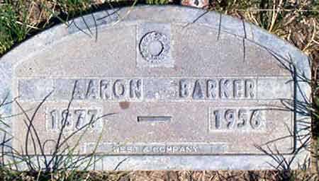 BARKER, AARON - Baker County, Oregon | AARON BARKER - Oregon Gravestone Photos