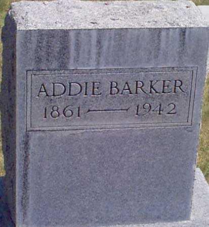 CHASE BARKER, ADDIE V. - Baker County, Oregon | ADDIE V. CHASE BARKER - Oregon Gravestone Photos