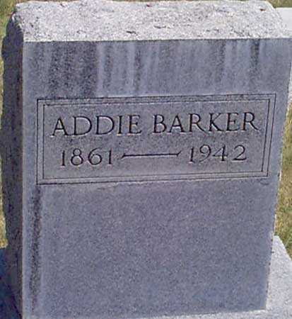 BARKER, ADDIE V. - Baker County, Oregon | ADDIE V. BARKER - Oregon Gravestone Photos