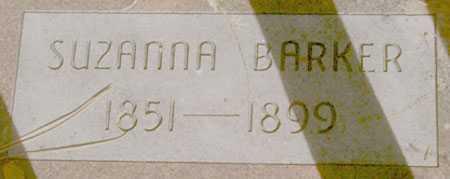 BARKER, SUZANNA - Baker County, Oregon | SUZANNA BARKER - Oregon Gravestone Photos