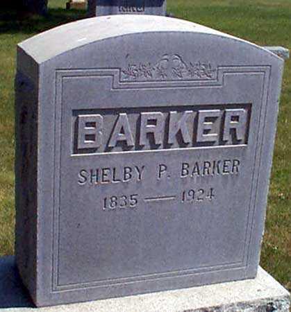 BARKER, SHELBY P. - Baker County, Oregon | SHELBY P. BARKER - Oregon Gravestone Photos