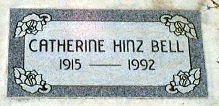 HINZ BELL, CATHERINE - Baker County, Oregon | CATHERINE HINZ BELL - Oregon Gravestone Photos