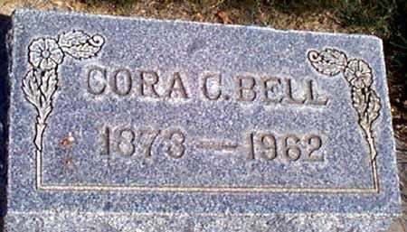 BELL, CORA ETINA - Baker County, Oregon   CORA ETINA BELL - Oregon Gravestone Photos