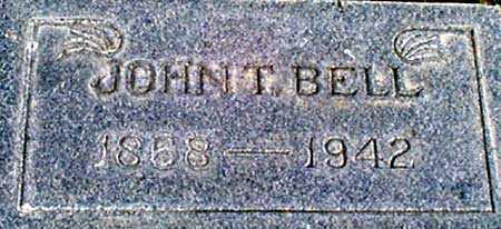 BELL, JOHN THOMAS - Baker County, Oregon | JOHN THOMAS BELL - Oregon Gravestone Photos
