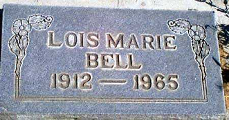 BELL, LOIS MARIE - Baker County, Oregon | LOIS MARIE BELL - Oregon Gravestone Photos