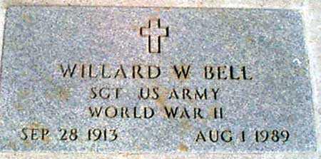 BELL (WWII), WILLARD W. - Baker County, Oregon | WILLARD W. BELL (WWII) - Oregon Gravestone Photos