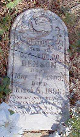 BENSON, OTTO O. - Baker County, Oregon   OTTO O. BENSON - Oregon Gravestone Photos