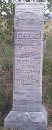 RITCH BOYCE, BIRDIE N. - Baker County, Oregon | BIRDIE N. RITCH BOYCE - Oregon Gravestone Photos