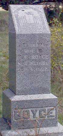 MORRIS BOYCE, ELVINA MARTHA - Baker County, Oregon | ELVINA MARTHA MORRIS BOYCE - Oregon Gravestone Photos