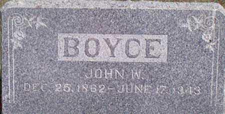 BOYCE, JOHN W. - Baker County, Oregon | JOHN W. BOYCE - Oregon Gravestone Photos
