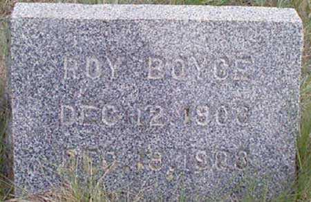 BOYCE, ROY - Baker County, Oregon | ROY BOYCE - Oregon Gravestone Photos