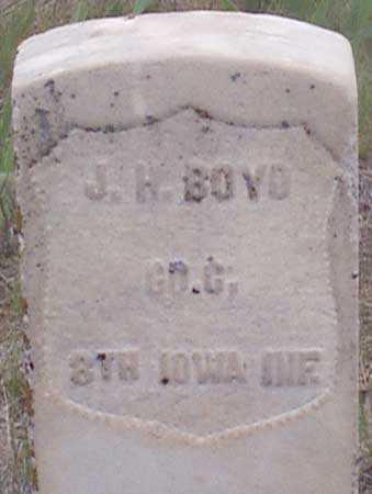 BOYD, JOHN H. - Baker County, Oregon | JOHN H. BOYD - Oregon Gravestone Photos