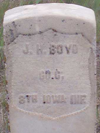 BOYD (CW), JOHN H. - Baker County, Oregon | JOHN H. BOYD (CW) - Oregon Gravestone Photos