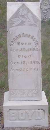 BOYD, SARAH A. - Baker County, Oregon   SARAH A. BOYD - Oregon Gravestone Photos