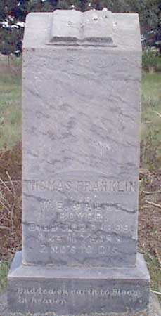 BOYER, THOMAS FRANKLIN - Baker County, Oregon | THOMAS FRANKLIN BOYER - Oregon Gravestone Photos