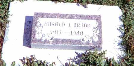 BRADD, HAROLD JAMES - Baker County, Oregon   HAROLD JAMES BRADD - Oregon Gravestone Photos