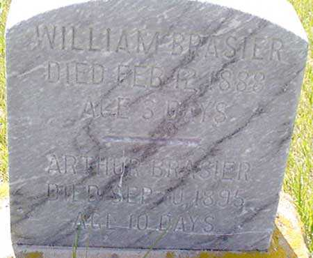 BRASIER, WILLIAM - Baker County, Oregon | WILLIAM BRASIER - Oregon Gravestone Photos