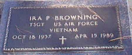 BROWNING, IRA PERRY - Baker County, Oregon   IRA PERRY BROWNING - Oregon Gravestone Photos